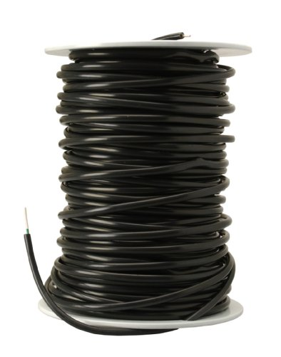 Southwire 54702 Solid Underground Sprinkler System Wire, 18-Gauge 2-Conductor 30-Volt 250-Feet