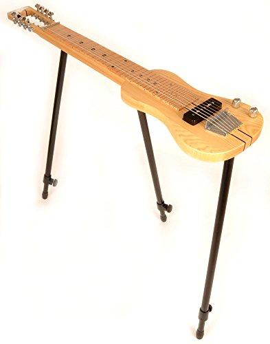 SX LAP 8 NAT 8 String Lap Steel Guitar w/Free Detachable Stand & Bag