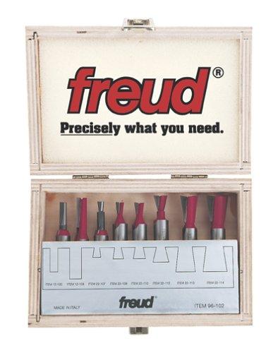 Freud 8 Piece Bit Sets for Incra Jig (1/4' Shank) (96-102)