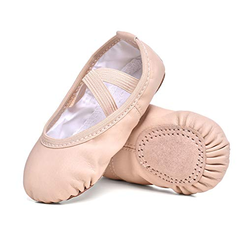 STELLE Girls Ballet Practice Shoes, Yoga Shoes for Dancing(BP, 11M Little Kid)