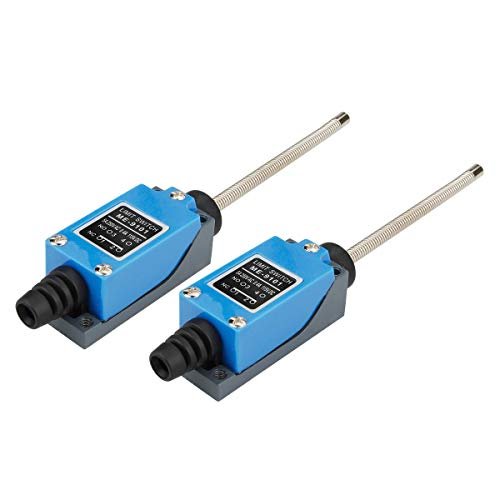 electrical buddy ME-91011NC+1NO Flexible Coil Spring Rod Momentary Limit Switch 2pcs