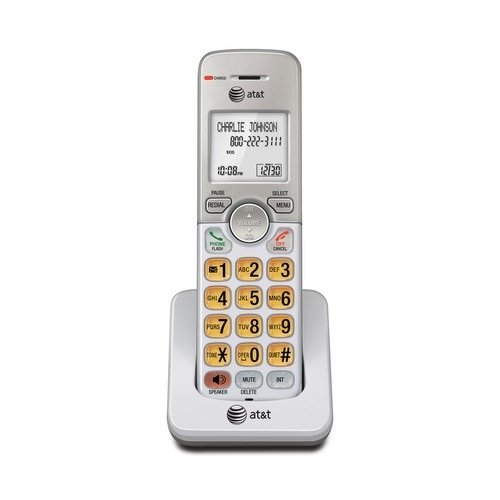 AT&T EL50003 Accessory Cordless Handset, White | Requires AT&T EL52103, EL52203, EL52253,EL52303, EL52353, EL52403, or EL52503 to Operate