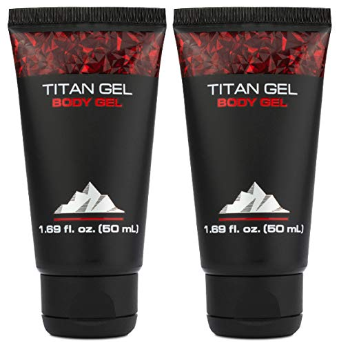 Titan Gel 2 Pack for Man Original Body Gel for Male Enhacement And Enlargement Awakening Muscles with Tantric Massage – Jelly Gel by Hendel's Garden