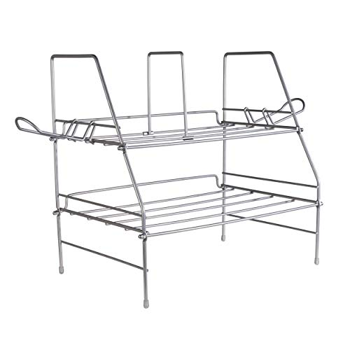 Atlantic Game Depot - Wire Gaming Rack Stores and Organizes All Your Gaming Gear, Made from Durable Heavy Gauge Steel Wire PN45506114