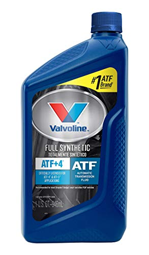 Valvoline ATF +4 Full Synthetic Automatic Transmission Fluid 1 QT