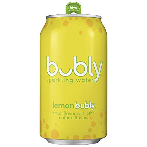bubly Sparkling Water, Lemon, 12 fl oz. Cans (18 Pack)