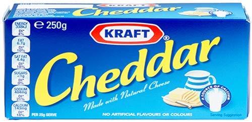 Kraft Cheddar Natural Cheese- Australia Made