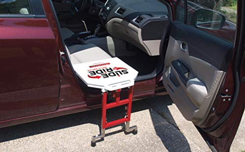 SLIDE 'n RIDE Vehicle Assist Easy Transfer Seat/Board/Device 500lb. Rated-Adjustable, Safe, Compact and Lightweight - Very Important: Must Measure Does NOT Fit Every Vehicle (See Measurement Guide)
