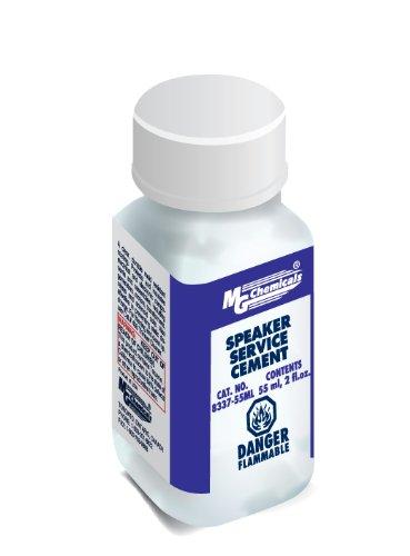 MG Chemicals Speaker Repair Cement, 55 ml Liquid Bottle