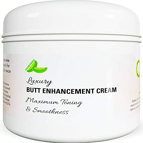 Bigger Butt Enhancement Cream for Women and Men - Big Butt Firming and Lifting Cream - Brazilian Butt Lift - Natural Butt Paste - Butt Augmentation Without Plastic Surgery - Coconut Oil + Vitamin E