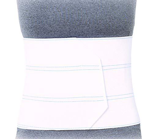 Superior Braces Premium Abdominal Binder for Waist and Back Support, Compression Wrap, Post Surgery Support (3 Panel - Large/XLarge - 45' - 62' Waist)