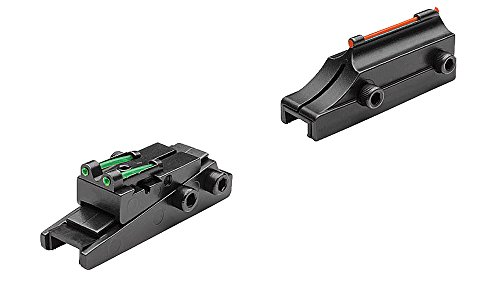 TRUGLO Pro-Series Magnum Gobble-Dot Sight 1/4, Red/Green (TG944A), TG944A (1/4' Rib Width)