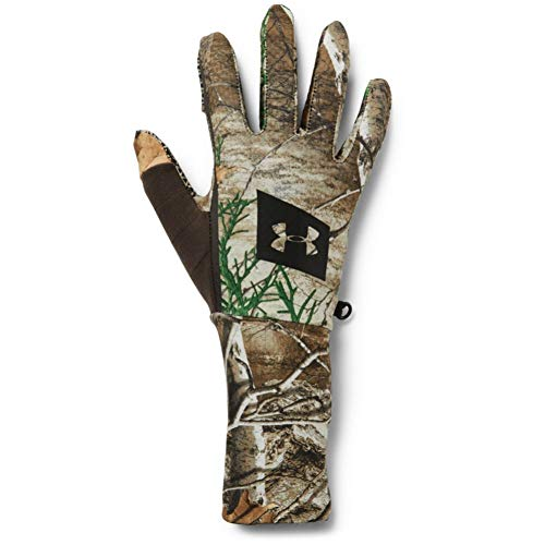 Under Armour Men's Hunt Liner Gloves , Real Tree Edge (991)/Black , X-Large