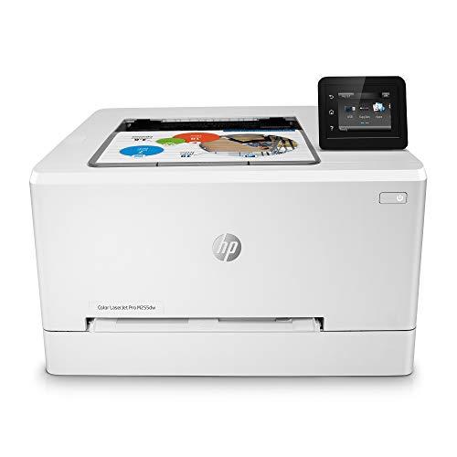 HP Color LaserJet Pro M255dw Wireless Laser Printer, Remote Mobile Print, Duplex Printing (7KW64A), White, One Size (7KW64A#BGJ)