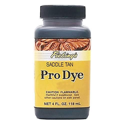 Fiebing's Pro Dye, Saddle Tan, 4 oz.