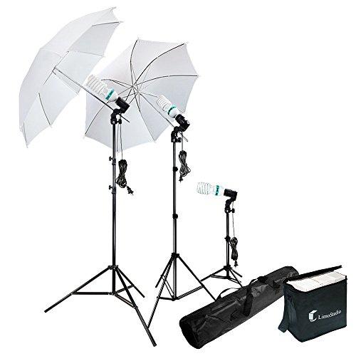 LimoStudio Photography Photo Portrait Studio 660W Day Light Umbrella Continuous Lighting Kit, LMS103
