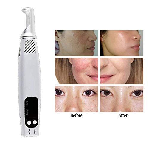 Spot Removal Picosecond Pen,Tattoo Scar Mole Freckle Removal Dark Spot Remover Beauty Blue Light