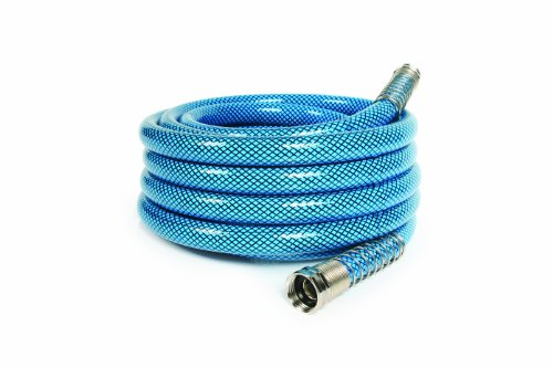 Camco 25 Feet 25ft Premium Drinking Water Lead and BPA Free, Anti-Kink Design, 20% Thicker Than Standard Hoses 5/8' Inside Diameter (22833)