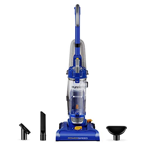 Eureka NEU182A PowerSpeed Bagless Upright Vacuum Cleaner, Lite, Blue