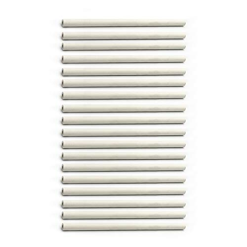 Hongso 9.5' Long Grill Ceramic Rods Replacement for DCS Grill 30/36 / 48 Inch Gas Grills (bga/Bgb/Bgc Series) CR123-18(18-Pack)