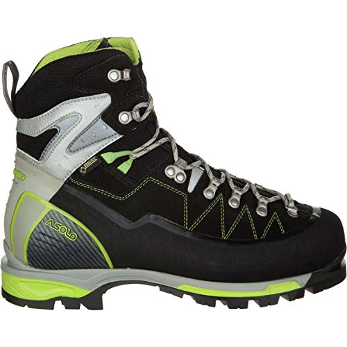 Asolo Alta Via GV Mountaineering Boot - Men's - 12 - Black/Green