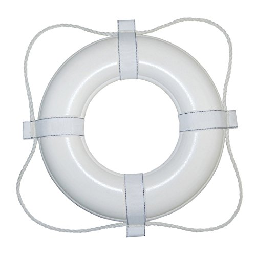 Taylor Made Products 365 USCG Approved Foam Life Ring (20', White)