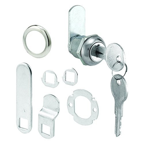 Defender Security U 9941KA Prime Line U-9941Ka Cam Lock, 2 Key, Die Cast Stainless Steel, 5/8'