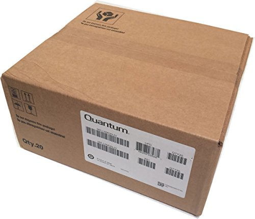 Quantum 20-Pack MR-L6MQN-01 LTO 6 Ultrium Data Cartridges