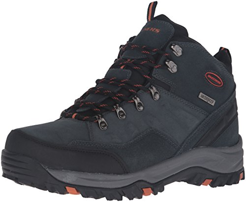 Skechers Men's Relment Pelmo Chukka Boot,Gray,12 M US