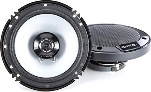 Kenwood KFC-1666S 300 Watts 6.5' 2-Way Car Coaxial Speakers with Sound Field Enhancer - Pair
