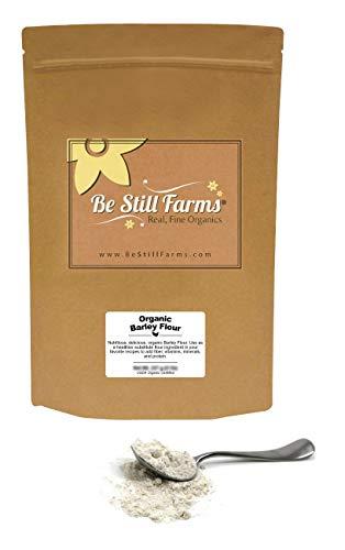 Be Still Farms Organic Barley Flour (2lb) Organic Barley - Barley Flour Organic - Barley In Bulk - Ground Barley - Barley Flour For Baking - Healthy Grain