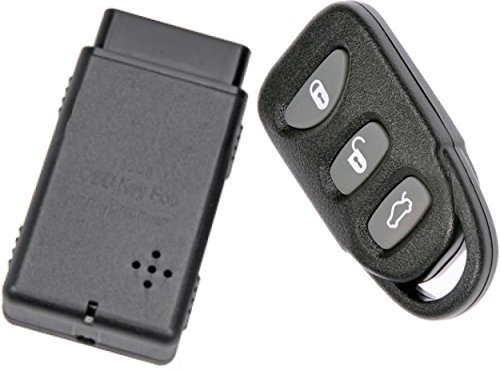 APDTY 133775 Replacement Keyless Entry Remote Key Fob With Auto Programmer Fits 2006-2014 Hyundai Sonata 2007-2015 Hyundai Elantra (Replaces 954303K202, 954303Q000, 954303Q001, 954303X500)