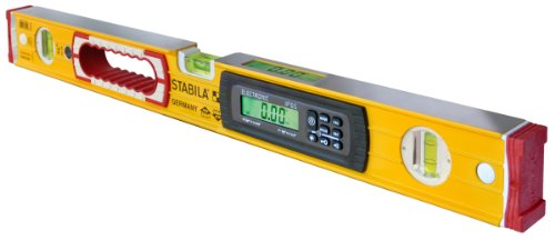 Stabila 36524 24-Inch Electronic Dust and Waterproof IP65 TECH Level with Case