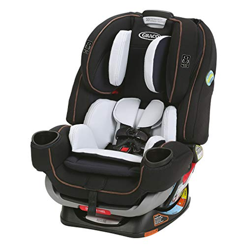 Graco 4Ever Extend2Fit 4 in 1 Car Seat | Ride Rear Facing Longer with Extend2Fit, Hyde