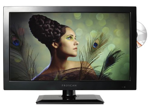 Proscan 19-Inch LED TV | 720p, 60Hz | DVD Player | PLEDV1945A-B model