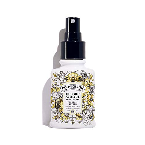 Poo-Pourri Before-You-go Toilet Spray, 2 Fl Oz, Original Citrus Scent, 2 Fl Oz