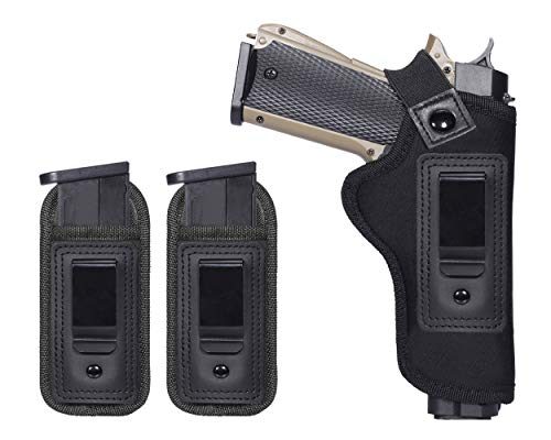 TACwolf IWB Holster - Fits Most 1911 Style Handguns - Kimber - Colt - S & W - Sig Sauer - Remington - Ruger & More