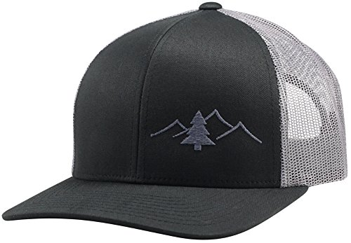 LINDO Trucker Hat - Great Outdoors Collection (Black/Graphite)