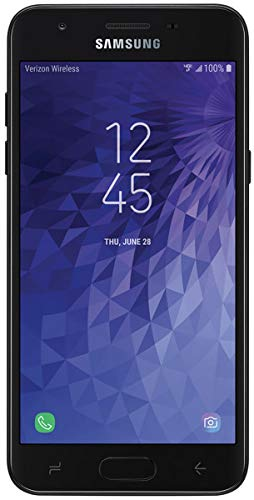 Samsung Galaxy J3 2018 16GB Verizon Wireless (J337v CDMA) 5.5' Android 7.1 Smartphone - Black (Renewed)