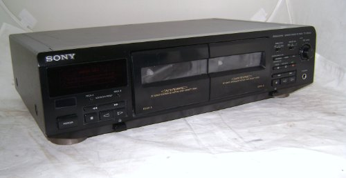 Sony TC-WE405 Stereo Cassette Deck Double Tape Player