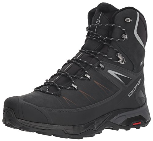 Salomon Men's X Ultra Winter CSWP 2 Winter Snow Boots, Black/PHANTOM/Monument, 9