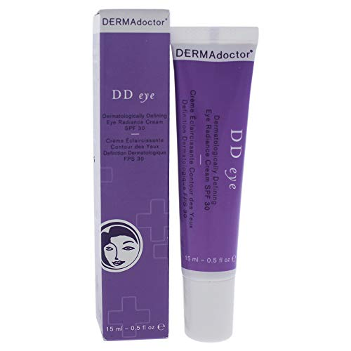 DERMAdoctor DD Eye Dermatologically Defining Eye Radiance Cream SPF 30, 0.5 oz
