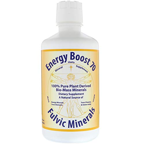 Morningstar Minerals Energy Boost 70, Fulvic Minerals, 32 fl oz (946 ml)