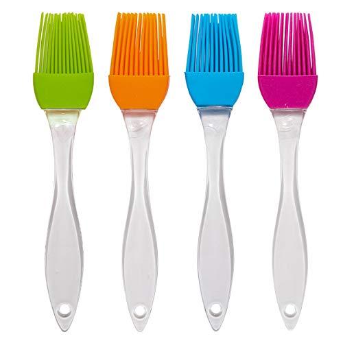 4 Pcs Silicone Basting Brush and Pastry Brushes
