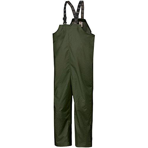Helly Hansen Workwear Men's Mandal Fishing and Rain Bib Pant, Army Green, X-Large