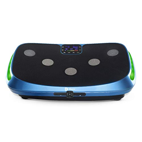 LifePro Rumblex 4D Vibration Plate Exercise Machine - Triple Motor Oscillation, Linear, Pulsation + 3D/4D Motion Vibration Platform | Whole Body Viberation Machine for Home, Weight Loss & Shaping.
