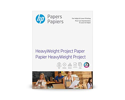 HP Heavyweight Project Paper   Matte Inkjet & Laser   8.5x11   250 Sheets