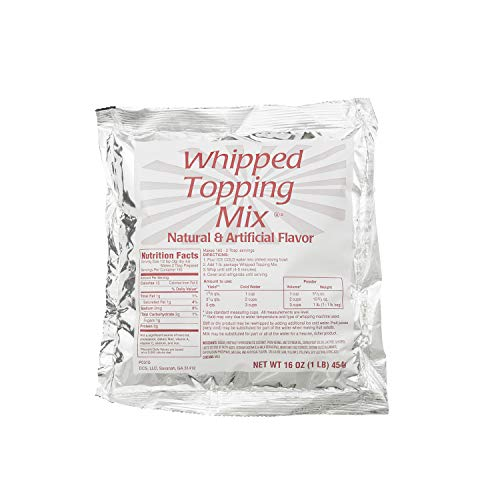 Chef's Companion Whipped Topping Mix 1 Lb