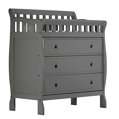 Dream On Me, Marcus Changing Table and Dresser, Storm Grey