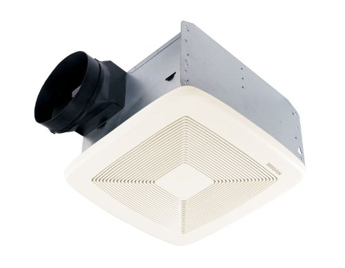 Broan-Nutone  QTXE110  Ultra-Silent Ventilation Exhaust Fan for Bathroom and Home, ENERGY STAR Certified, 0.7 Sones, 110 CFM